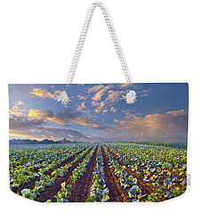 Weekender Tote Bag featuring the photograph With A Faith Born Not Of Words But Of Deeds by Phil Koch