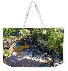 Weekender Tote Bag featuring the photograph Withstanding Time by Michael Hughes