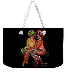 Women In Conversation Weekender Tote Bag