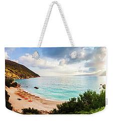 Wonderful Beach Without People At Morning Weekender Tote Bag