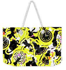 Wonderland Design Weekender Tote Bag