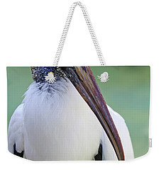Weekender Tote Bag featuring the photograph Wood Stork 40312 by Rick Veldman