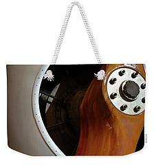 Wooden Propeller Weekender Tote Bag