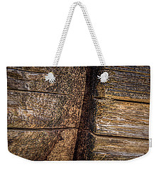 Wooden Wall Weekender Tote Bag