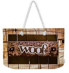 Woof Weekender Tote Bag