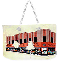 Woolworth On Market St. Weekender Tote Bag