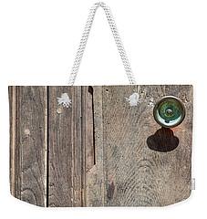 Worn Brass Door Handle Of Tuscany Weekender Tote Bag