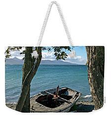 Wrecked Boat Patagonia Weekender Tote Bag