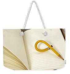 Writers Block Weekender Tote Bag