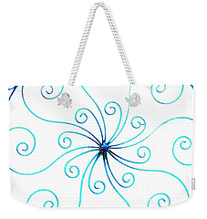 Wrought Iron Weekender Tote Bag