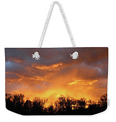 Wyoming Sunrise Weekender Tote Bag