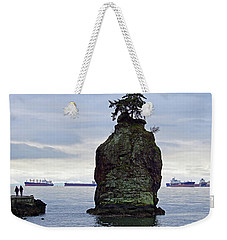 Xmas Day Strollers Weekender Tote Bag