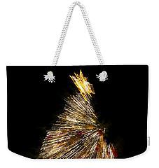 Xmas Tree Motion Art Weekender Tote Bag
