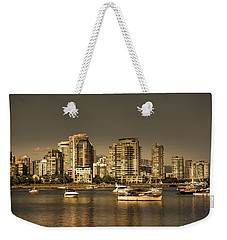 Yaletown Golden Hour Weekender Tote Bag