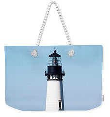 Weekender Tote Bag featuring the photograph Yaquina Head Lighthouse 101618 by Rospotte Photography