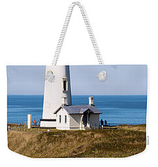 Weekender Tote Bag featuring the photograph Yaquina Head Lighthouse 102518 by Rospotte Photography