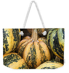 Yellow And Green Pumpkins Weekender Tote Bag