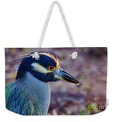 Yellow-crowned Night Heron Weekender Tote Bag