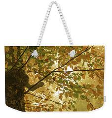 Yellow Fall Leaves - Blue Ridge Parkway Weekender Tote Bag