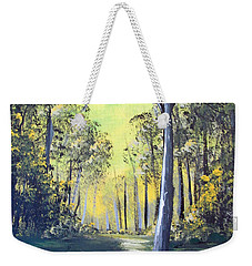 Yellow Forrest Weekender Tote Bag