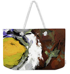 Yellow Lemon In The Bowl Weekender Tote Bag