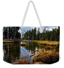 Weekender Tote Bag featuring the photograph Yellowstone National Park by Scott Read