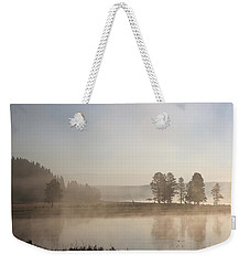 Yellowstone River Early Morning Weekender Tote Bag