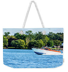 Yes Its A Chris Craft Weekender Tote Bag