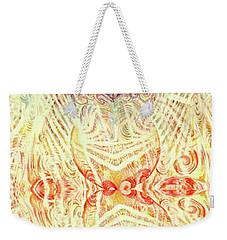 Yonic Rainbow Weekender Tote Bag