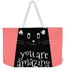 You Are Amazing - Baby Room Nursery Art Poster Print Weekender Tote Bag