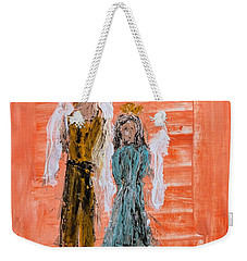 Young Love Angels Weekender Tote Bag