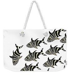 Zebra Fish 1 Of 4 Weekender Tote Bag