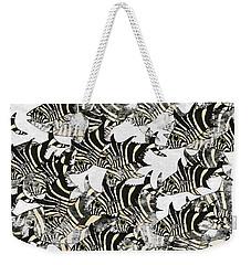 Zebra Fish 10 Weekender Tote Bag