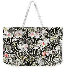 Zebra Fish 11 Weekender Tote Bag