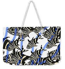 Zebra Fish 8 Weekender Tote Bag