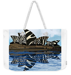 Zebra Opera House 4 Weekender Tote Bag