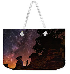 Weekender Tote Bag featuring the photograph Zion by Tassanee Angiolillo