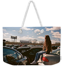 Weekender Tote Bag featuring the photograph Zoom Zoom by Carl Young