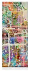 City Map Yoga Mats