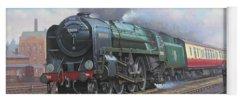 Railway Locomotive Yoga Mats