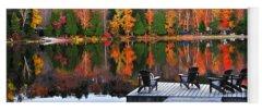 Autumn Reflection Yoga Mats