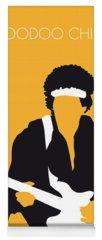 Art Jimi Hendrix Yoga Mats