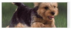 Yorkshire Terrier Yoga Mats