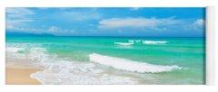 Caribbean Sea Photographs Yoga Mats