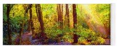 Woodland Paintings Yoga Mats