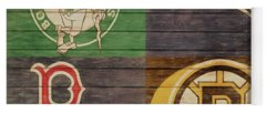 Boston Celtics Mixed Media Yoga Mats