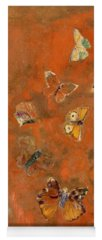 Orange Butterfly Yoga Mats