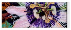 Passion Fruit Flower Yoga Mats