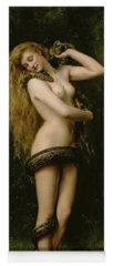 Nude Girl Yoga Mats