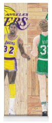 Boston Celtics Drawings Yoga Mats
